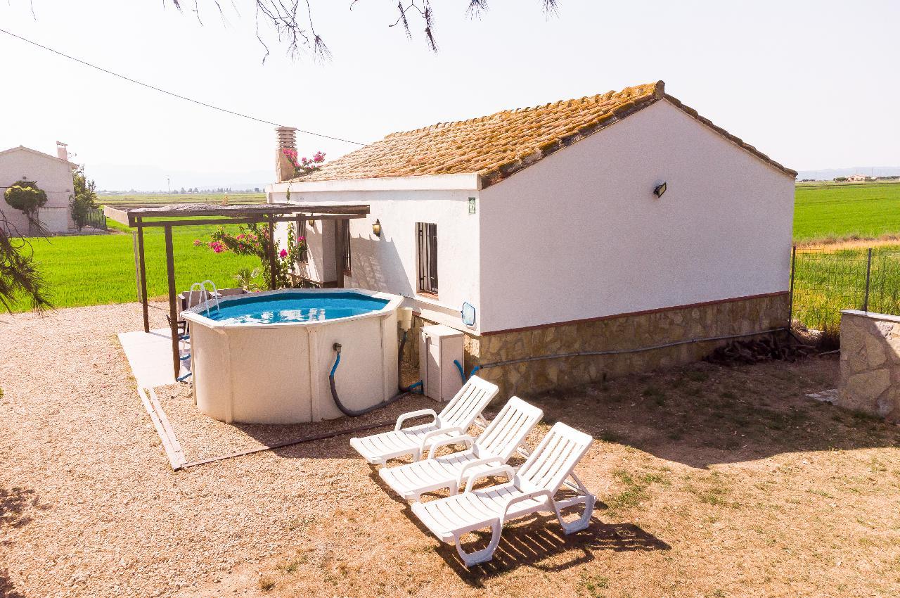 Casa rural -                                       Deltebre -                                       3 dormitorios -                                       6 ocupantes