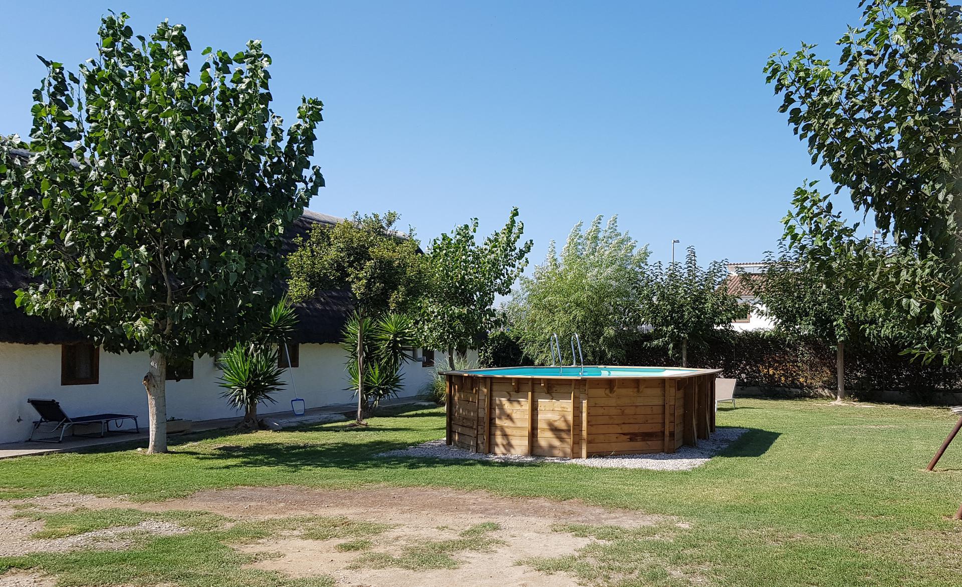 Casa rural -                                       Sant Jaume D´enveja -                                       3 dormitorios -                                       8 ocupantes